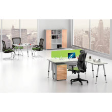 Fashion Steel Foot with Melamine Top Office Table (BS-A06)