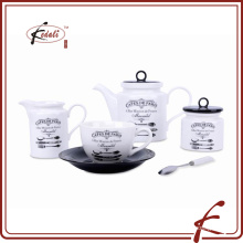 Wholesale European Style Porcelain Teapot Set for home