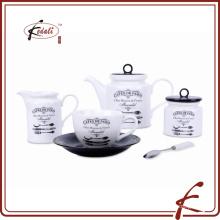Atacado Estilo Europeu Porcelana Teapot Set para casa