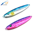 MJL013 Nuevo señuelo artificial plomo lento jigging metal jig fishing señuelo