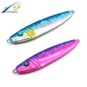 MJL013 nouvel appât artificiel plomb lent jigging métal jig leurre de pêche