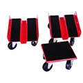 Snowmobile Dolly Set 1500 lb con correas de alta resistencia