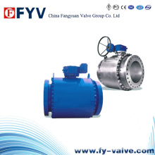 API6d Forged Steel Metal Seated Fixed Ball Valve