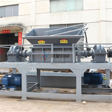Industrial Scrap Tire Shredder Equipment dijual