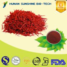 Extracto de azafrán / Crocus sativus L. / 0.2% 0.4% Safranal / 95% de ácido de Croctin