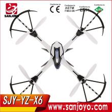 Yz Tarantula X6 2.4ghz 4ch 6-axis Ioc Fpv Rc Quadcopter With Camera - Blue / Black