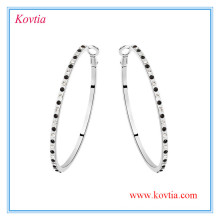 fashion european hoop earring big circle earrings