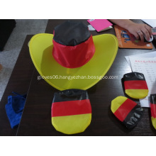 Custom Budget Polyester Folding Flag Caps W/ Pouch