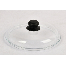 Frying Pan Pot Solid Temperature Glass Replacement Lid