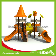 2014 Unique Middle East Style Used kids toys outdoor with Castle theme Plastic Roof LE.CB.007