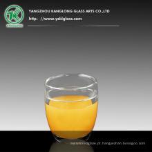 Copo de chá de vidro duplo parede (470ml)