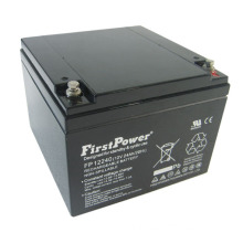 Solar Control Utrustning Reserve Deep Cycle Battery 12V24AH