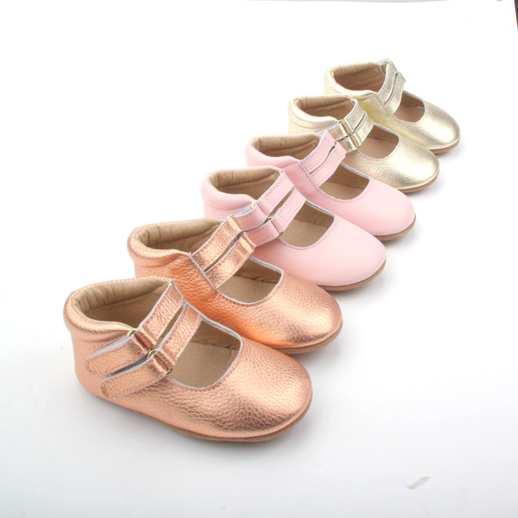 OEM Leather Baby Girl Shoes