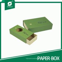 Nueva caja de papel del té respetuosa del medio ambiente del diseño hecha en China