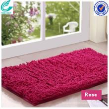 Tapis de protection de sol mat de mousse de mémoire mat absorbant le tapis de chenille