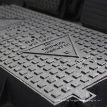 EN124 Various size Opening Diameter Square Ductile Iron Manhole Covers