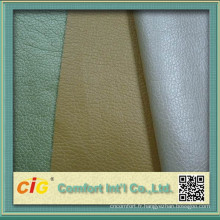 Cuir Synthétique PU Pearized Shiny Made In Zhejiang