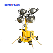 Night Scan Torre de halogeneto metálico 4X1000W