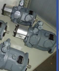 concrete pump gear pump and main pump
