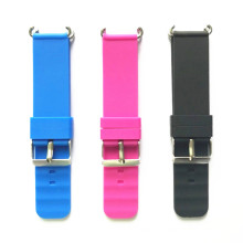 silicone rubber watch band for kids smart watch