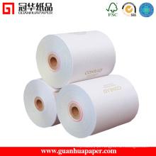 A fábrica ISO vende imediatamente rolos de papel sem carbono