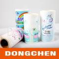 Étiquette cosmétique colorée adhésive bon marché de haute qualité faite sur commande