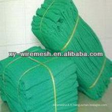 Réseau de sécurité pour la construction du réseau de sécurité en polyéthylène pour la construction