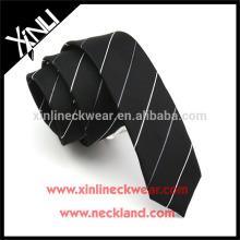 Perfekte Knoten 100% handgemachte dünne Polyester Krawatte China