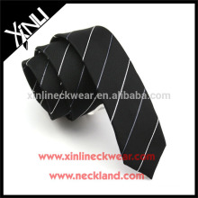 Perfect Knot 100% fait à la main Skinny Polyester Cravate Chine