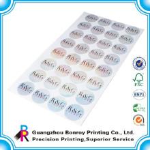 Anti-gefälschtes Hologramm Guangzhous beschriftet Aufkleberpapierdrucken