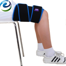 Medical gel ice thigh wrap for sports injury