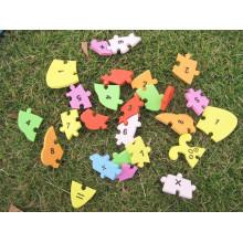 Образовательные взаимосвязанных буквы алфавита EVA пены числа мат головоломки новые
