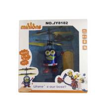 Mini brinquedos de vôo infravermelho para crianças com luz