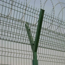 SGS/CE/ISO9001 PVC Coated Airport Security Fence