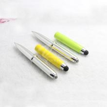 Fancy Unique LED Light Stylus Pen com lanterna