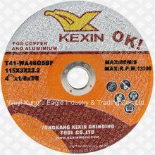 Kexin abrasivos herramientas de corte abrasivos ruedas