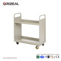 ORIZEAL Mobile Bookshelf moving library trolley