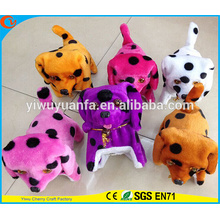 Hot Item Charming Design High Quality Soft Plush Electric Walking Barking Spot Puppies