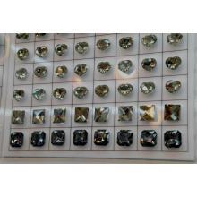 Buena calidad y estilo fresco botón de cristal acrílico para la ropa