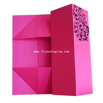 High Quality Folding Packaging Gift Paper Box with Spot UV