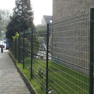 Welded Wire Mesh Fence Panels-2