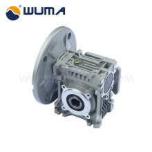 With gear motor double stage worm gear speed reducer