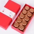 3 цвета черного чая бумажная коробка с рукавом