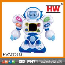 2015 Neues Produkt Interessante Kinder B / O Kunststoff Roboter Spielzeug