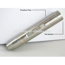 Stainless Steel Rechargeable Jade Testing Flashlight, flash led light, 18650 stainless steel flashlight