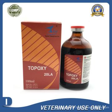 Médicaments vétérinaires de 20% d'injection d'oxytétracycline (50 ml / 100 ml)