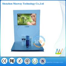 mostrador cosmético con pantalla lcd de 10 pulgadas