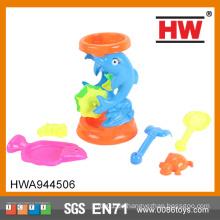 Qualitäts-Sommer-Spielzeug scherzt Plastiksand-Strand-Windmühlen-Spielwaren