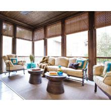 Наиболее популярные горячий-Продажа высокое качество моторизованный и ручной открытый рулонные шторы прозрачные с полиэстер ткань