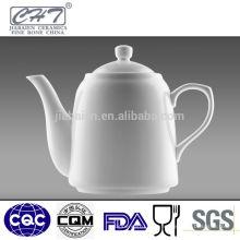 Chêne à thé en porcelaine fine en porcelaine blanche